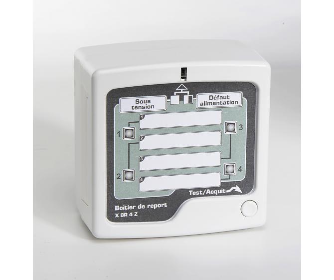 10520 Tableau de report Alarme Technique 2 alarmes