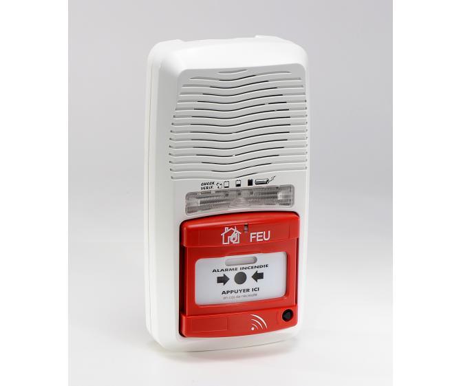 11201 Type 4 à pile Radio sans répéteur