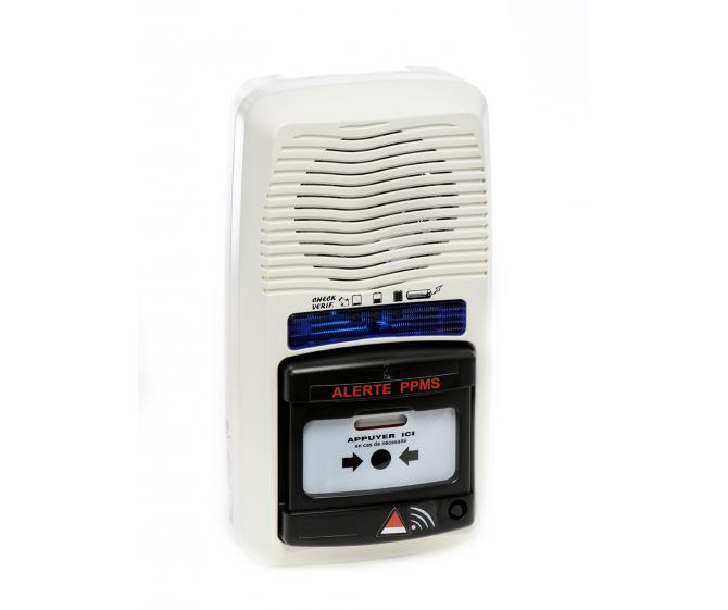 11202 Tableau d'alerte PPMS Radio avec répéteur