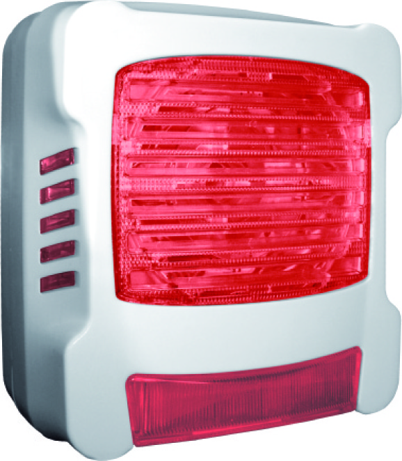 12146 Diffuseur sonore flash rouge
